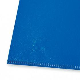 5 Star Office Folder Embossed Cut Flush Polypropylene Copy-safe Translucent 110 Micron A4 Blue Pack of 25