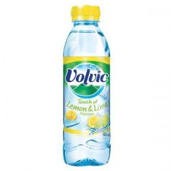 Cheap Stationery Supply of Volvic Touch of Fruit Lemon and Lime Water Bottle 500ml (Pack of 24) 16440 Office Statationery