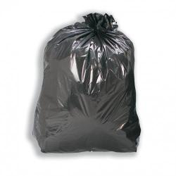 Cheap Stationery Supply of 5 Star Facilities Bin Liners Medium/Heavy Duty 110 Litre Capacity W450/690xH945mm Black Pack of 200 Office Statationery