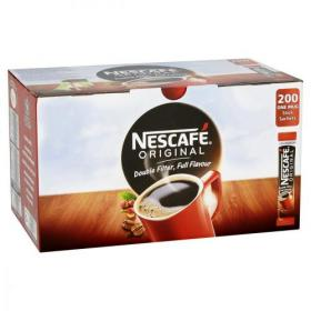 Nescafe Original Instant Coffee Granules Stick Sachets Ref 12348358 Pack of 200