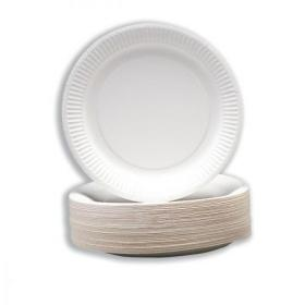 Paper Plates Disposable 180mm Pack of 100
