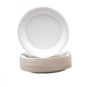 Paper Plates Disposable 230mm Pack of 100