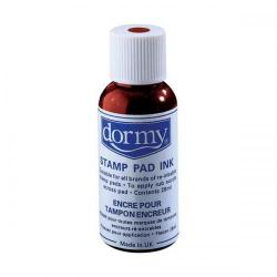 Cheap Stationery Supply of Dormy (28ml) Stamp Pad Ink (Red) 10 Pack 428214P10 Office Statationery