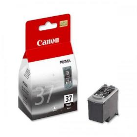Canon PG-37 Inkjet Cartridge Page Life 220pp 11ml Black Ref 2145B001