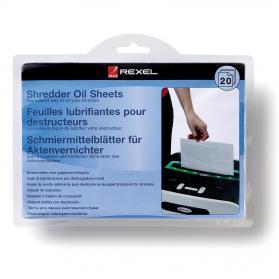 Rexel Shredder Oil Sheets in Envelope Design Ref 2101949 Pack of 20