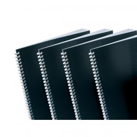 GBC PolyCovers Opaque Binding Covers Polypropylene 300 micron A4 Black Ref IB386831 Pack of 100