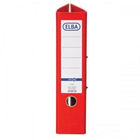 Elba Lever Arch File A4 Coloured Paper on Board Capacity 70mm Red Ref 100202218 Pack of 10