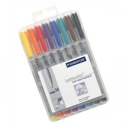 Cheap Stationery Supply of Staedtler Lumocolor 315 (1.0mm) Non-Permanent Universal Pen (Assorted Colours) 1 x Wallet of 8 315WP8 Office Statationery
