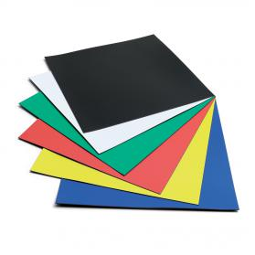 Nobo Magnetic Squares Vinyl 150x150mm Assorted Ref 1901104 Pack of 6