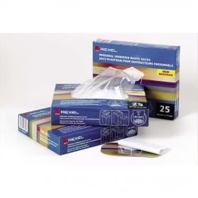 Rexel Shredder Waste Sacks 115 Litres Ref 40070 Pack of 100
