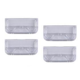 Rexel Crystalfile Classic Plastic Tabs for Suspension File Clear Ref 78020 Pack of 50