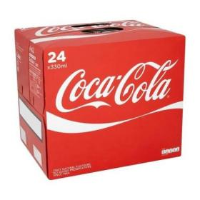 Coca Cola Coke Soft Drink Can 330ml Ref N000954 Pack of 24