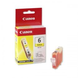 Cheap Stationery Supply of Canon BCI-6Y (Yield: 440 Pages) Yellow Ink Cartridge 4708A002 Office Statationery