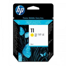 Hewlett Packard HP No.11 Inkjet Cartridge Page Life 2350pp 28ml Yellow Ref C4838A