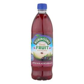 Robinsons Squash No Added Sugar 1 Litre Apple & Blackcurrant Ref 0402013 Pack of 12