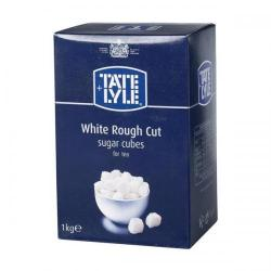 Cheap Stationery Supply of Tate & Lyle White Sugar Cubes Rough-cut 1 Kg 412090 Office Statationery