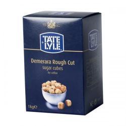 Cheap Stationery Supply of Tate & Lyle Demerara Sugar Cubes Rough-cut 1Kg A03903 Office Statationery