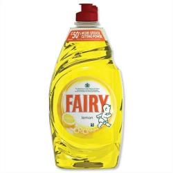 Cheap Stationery Supply of Fairy Liquid for Washing-up Lemon 433ml 1015072 Pack of 2 Office Statationery