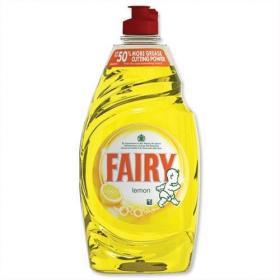 Fairy Liquid for Washing-up Lemon 433ml Ref 1015072 Pack of 2