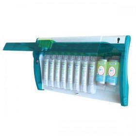 Wallace Cameron Astroplast Eyepod Dispenser Twist & Open Mirror 8x Eyepod 2x Eyepad Ref 1008077