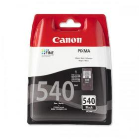 Canon PG-540 Inkjet Cartridge Page Life 180pp 8ml Black Ref 5225B005