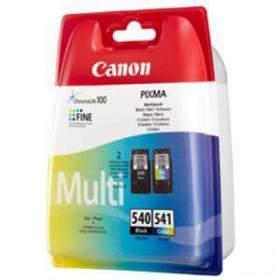 Canon PG-540/CL-541 Inkjet Cartridge Page Life 180pp 8ml Black/Tri-Colour Ref 5225B006 Pack of 2