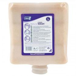Cheap Stationery Supply of DEB Natural Power Wash Hand Soap Refill Cartridge 2 Litre N03855 Office Statationery