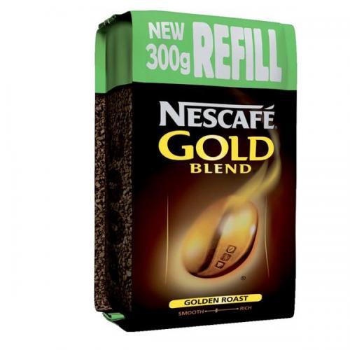 Nescafe 300g Gold Blend Vending Instant Coffee Refill Pack 12162463