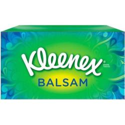 Cheap Stationery Supply of Kleenex Balsam Facial Tissues Box 3 Ply with Protective Balm 64 Sheets White M02275 Office Statationery