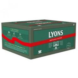 Cheap Stationery Supply of Lyons Green Label Tea Bags 1 Cup lyontea600 Pack of 600 Office Statationery