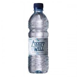 Cheap Stationery Supply of Abbey Well Natural Mineral Water Bottle Plastic Still 500ml A03086 Pack of 24 Office Statationery