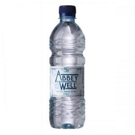 Abbey Well Natural Mineral Water Bottle Plastic Still 500ml Ref A03086 Pack of 24