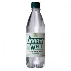 Abbey Well Natural Mineral Water Bottle Plastic Sparkling 500ml Ref 3791 Pack of 24