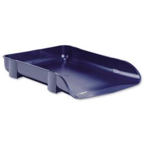 Rexel Agenda2 Letter Tray 55mm Depth W286xD401xH60mm Blue Ref 2101017