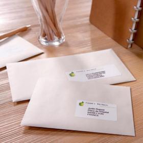 Avery Quick DRY Addressing Labels Inkjet 24 per Sheet 63.5x33.9mm White Ref J8159-25 600 Labels