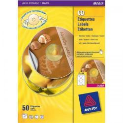 Cheap Stationery Supply of Avery L6043 Transparent Classic Size CD Labels (Pack 200) L6043-100 Office Statationery