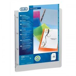 Cheap Stationery Supply of Oxford Polyvision Presentation Ring Binder Polypropylene 4 Ring 25mm A4 Clear 100081432 Pack of 12 Office Statationery