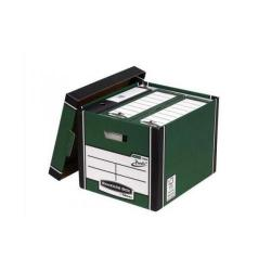 Cheap Stationery Supply of Bankers Box Premium Storage Box (Presto) Tall Green FSC 7260802 Pack of 10 Office Statationery