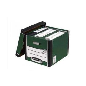 Bankers Box Premium Storage Box (Presto) Tall Green FSC Ref 7260802 Pack of 10