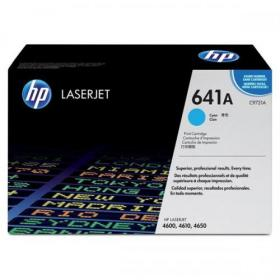 Hewlett Packard HP 641A Laser Toner Cartridge Page Life 8000pp Cyan Ref C9721A