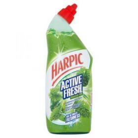 Harpic Active Toilet Cleaning Gel Fresh Power Pine 750ml Ref 0267350