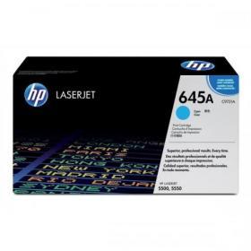 Hewlett Packard HP 645A Laser Toner Cartridge Page Life 12000pp Cyan Ref C9731A