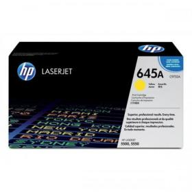 Hewlett Packard HP 645A Laser Toner Cartridge Page Life 12000pp Yellow Ref C9732A