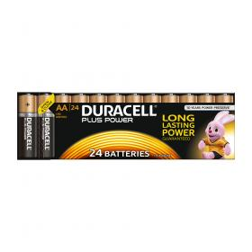 Duracell Plus Power Battery Alkaline 1.5V AA Ref 81275383 Pack of 24