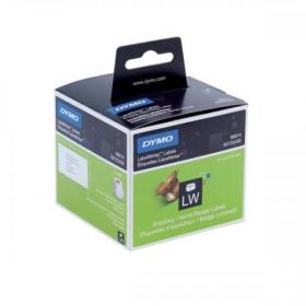 Dymo Labelwriter Labels Name Badge and Shipping 54x101mm White Ref 99014 S0722430 Pack of 220