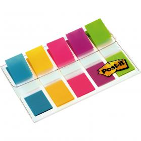 Post-it Index Small Portable Pack W12.5xH43mm Bright Colours Ref 683-5Cb Pack of 100