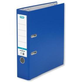 Elba Lever Arch File Polypropylene 70mm Spine A4 Blue Ref 100025926 Pack of 10