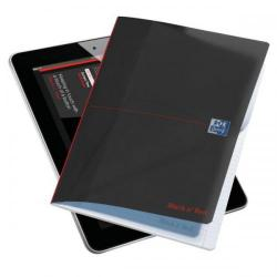 Cheap Stationery Supply of Black n Red (A4) 96 Pages Ruled Polypropylene Smart Wirebound Notebook Pack of 3 (3 For 2) January - December 2014 400033549X Office Statationery