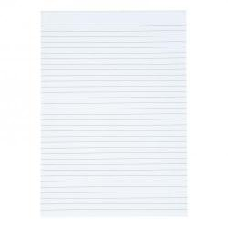 Cheap Stationery Supply of 5 Star Value Memo Pad Headbound 60gsm Ruled 160pp A4 White Paper Pack of 10 Office Statationery