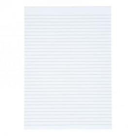 5 Star Value Memo Pad Headbound 60gsm Ruled 160pp A4 White Paper Pack of 10